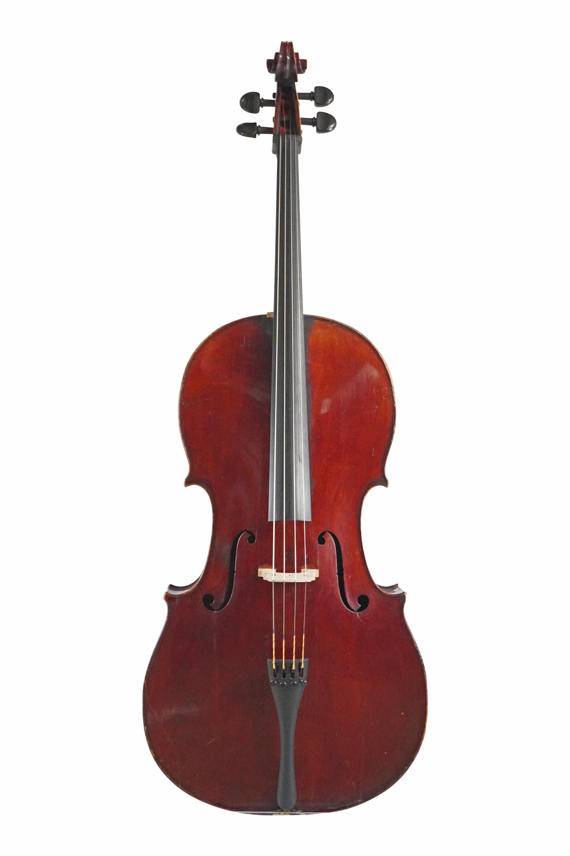 Duitse cello einde van 19de eeuw