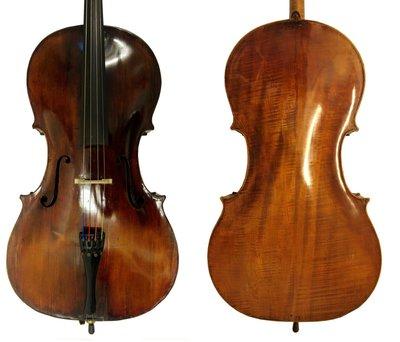 19de eeuwe Duitse cello