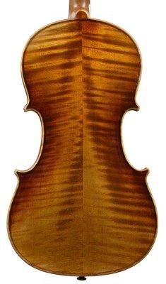 Very attractive German violin set