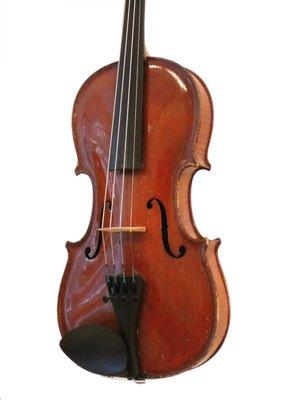 1/2 heel goed Tsjechische  viool