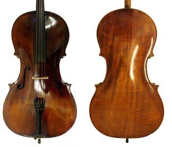 19de eeuwe Duitse cello / verhuurd